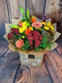 Bright Autumnal Handtied