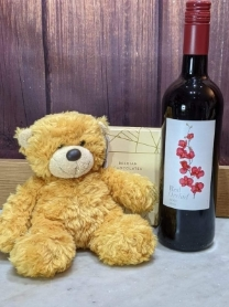 Honey Bear Wine Giftset